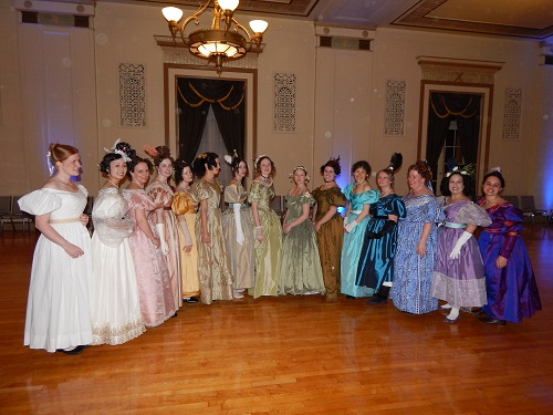 1830s Hopeless Romantics at Gaskell Ball April 2014. Photo by Vivien Lee.