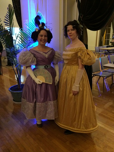 1830s Reproduction Romantic Era Dresses.