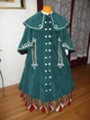 Reproduction Mid-Victorian Cloak/Coat front