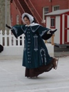 Reproduction Mid-Victorian Cloak/Coat skating