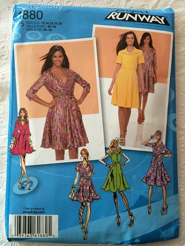 Simplicity 1880 Pattern Front
