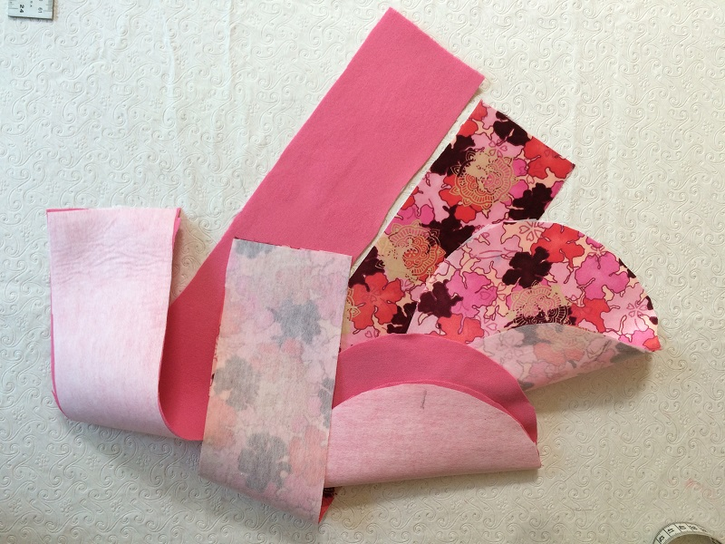 Pillbox Hat Tutorial iron on fusible interfacing