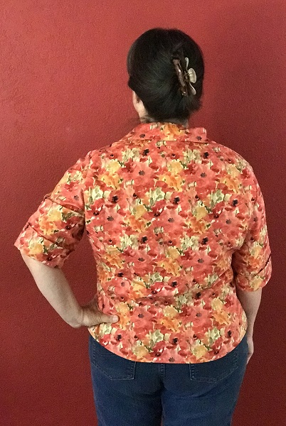 Butterick 6085 Misses' Poppy Shirt Back