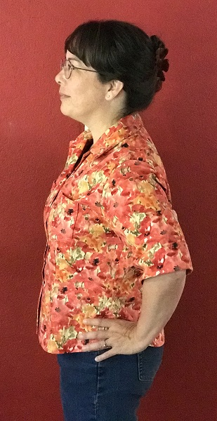 Butterick 6085 Misses' Poppy Shirt Left