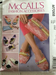 McCall's M7068 Slipper Shoe Pattern