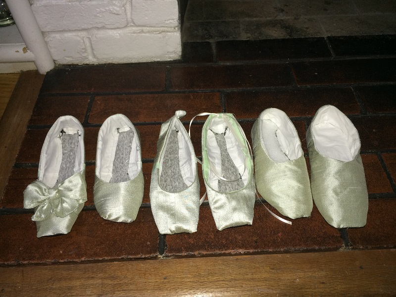 Reproduction Regency Dance Slipper Mockups