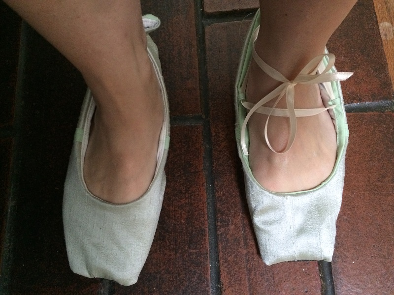 Reproduction Regency Slippers Fail