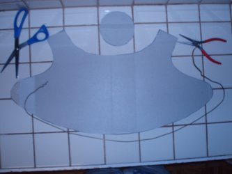 cardboard bonnet step 3