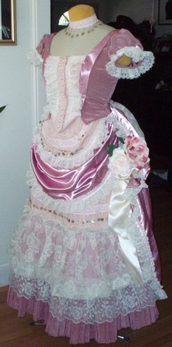 Pink Bustle Dress