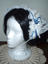 reproduction Victorian 1850s day cap