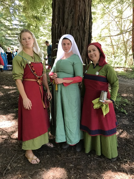 Reproduction Viking Apron Dress