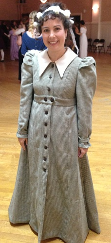 Reproduction Regency Wool Coat