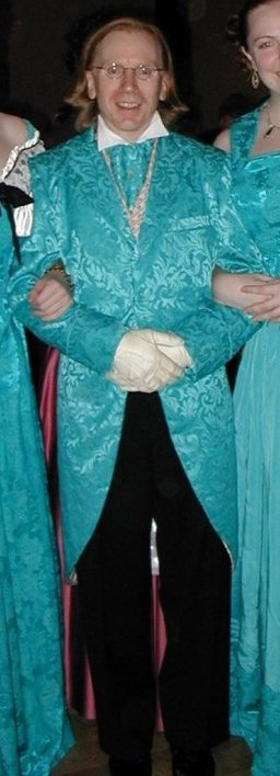 teal tailcoat